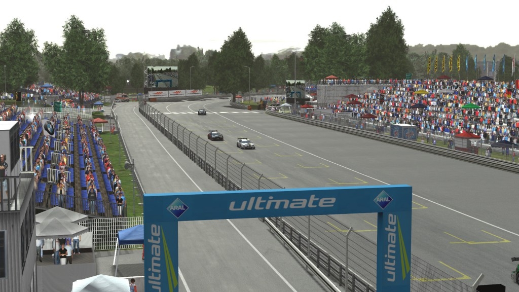 Norisring V1.1 on rFactor 2