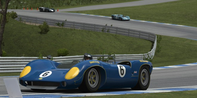 Lola T70 Spyder on rFactor 2