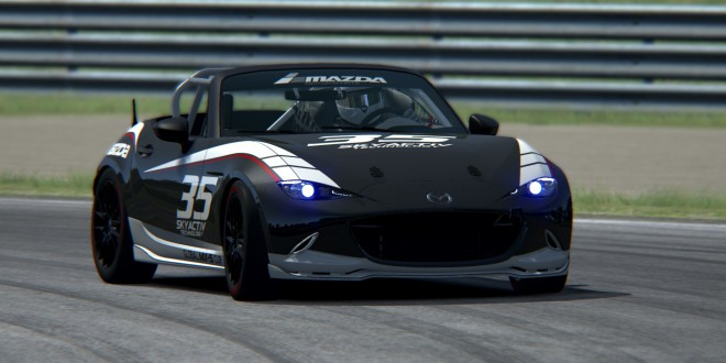 Mazda MX-5 Global Cup Car 2016