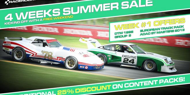 Raceroom summer sale