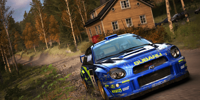 Dirt rally 1.03 update and new content