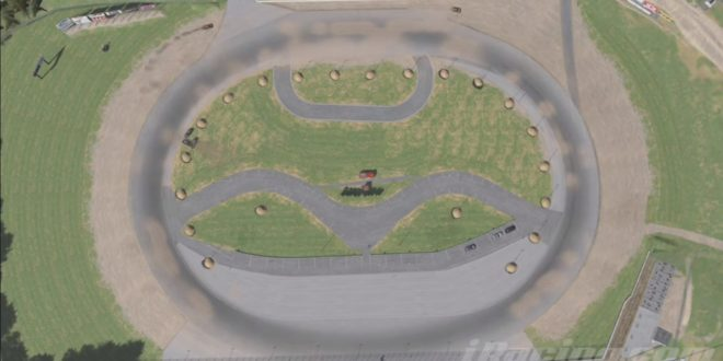 "iRacing ""Dirt Oval Timelapse"""