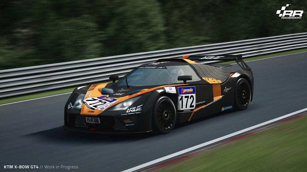 KTM X-BOW GT4 is coming to RaceRoom