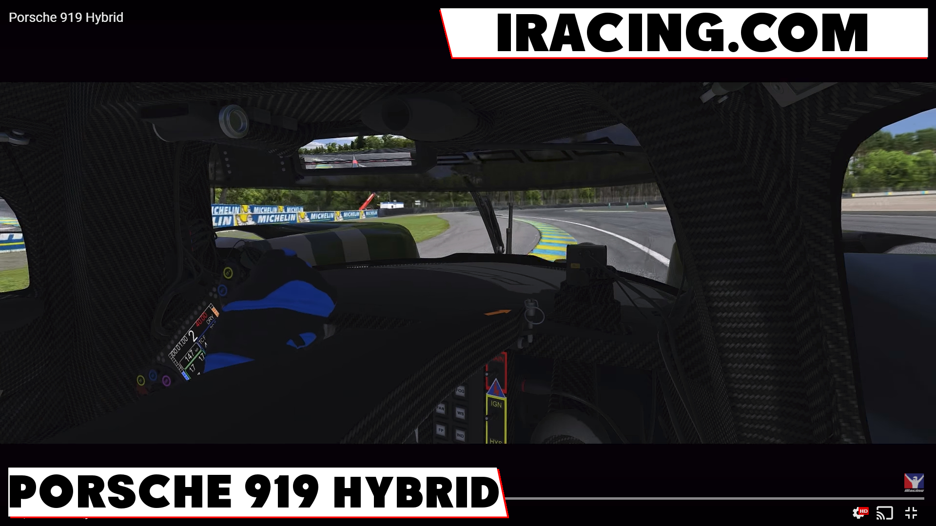 iRacing Porsche 919 Hybrid - Pitlanes Sim Racing